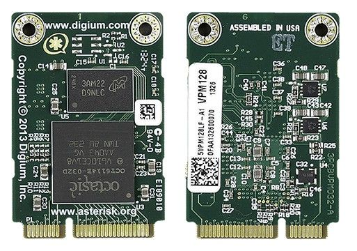 Digium Echo Cancellations Modules-1VPM128LF
