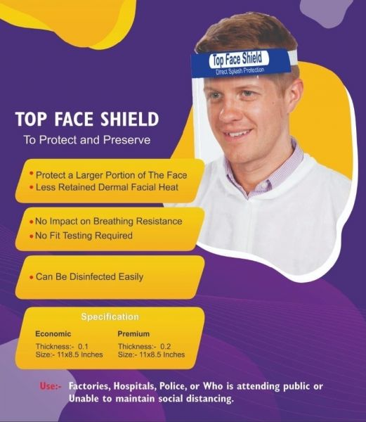 Face Shield (Pack of 5)