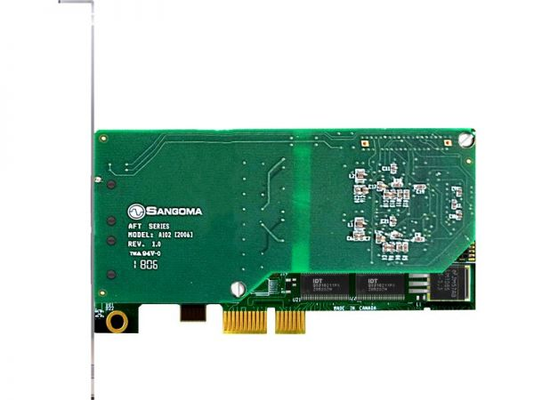 Sangoma A102DE Digital Telephony Card