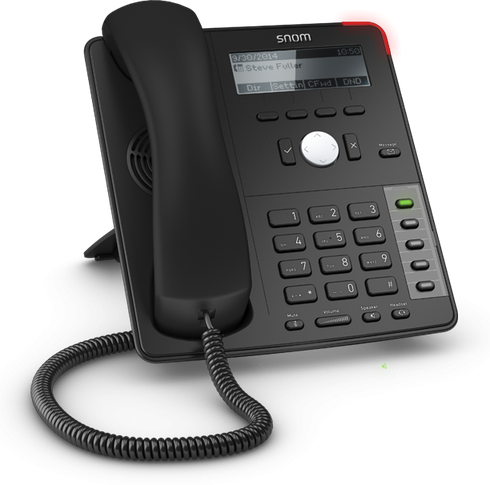 Snom Global 700 Desk Telephones Black D715