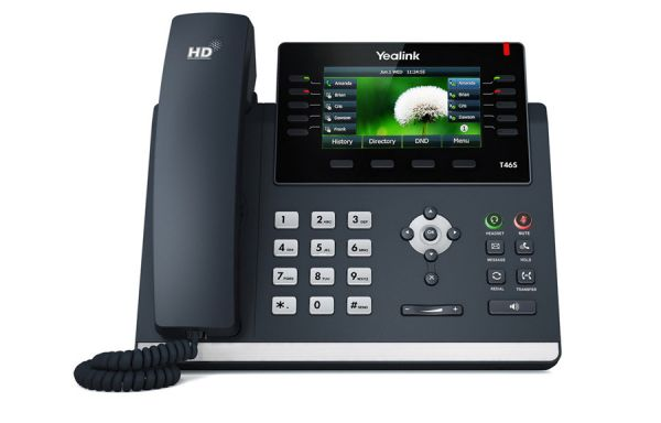 Yealink SIP-T46S Gigabit IP Phone