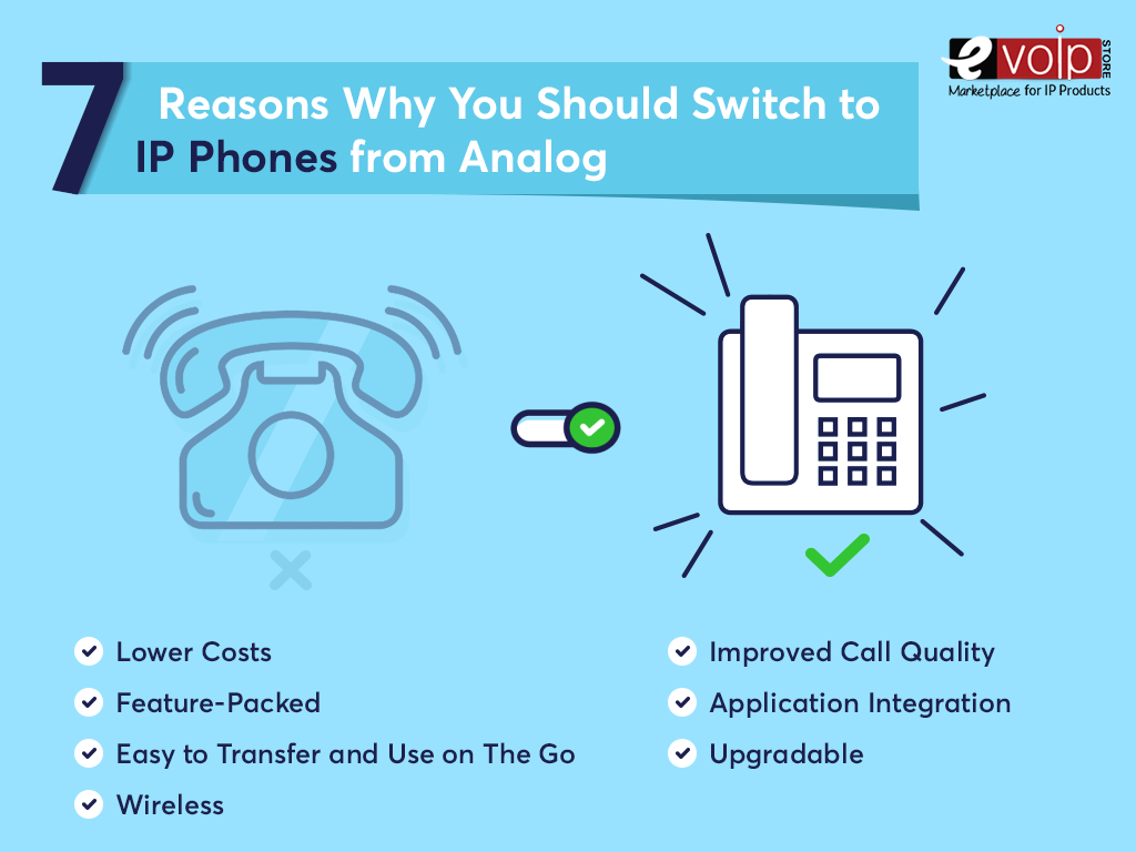 7 Reasons Why You Should Switch to IP Phones from Analog